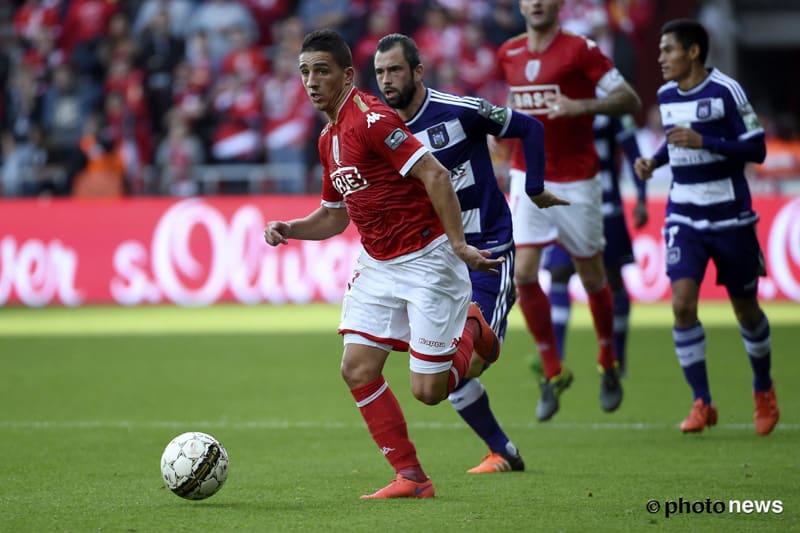 Anthony Knockaert sous les couleurs du Standard de Liège – crédit : Royal Sporting Club Anderlecht