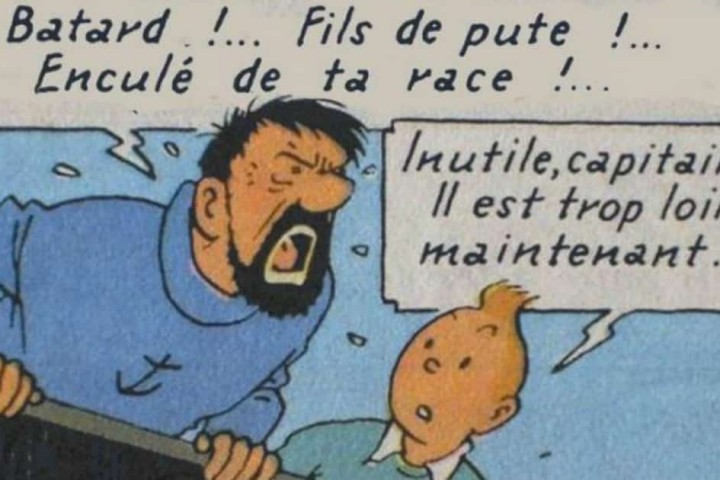 Insultes du Capitaine Haddock
