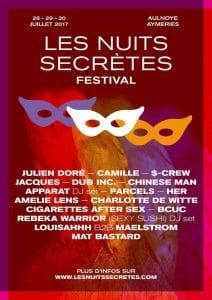 les Nuits Secrètes 2017